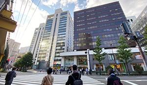 JR有楽町駅 日比谷口改札の景色