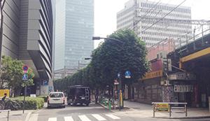東京国際フォーラム周辺