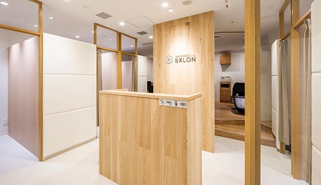札幌店の施術エリア